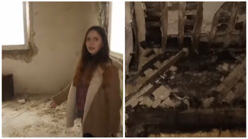 """Вагітну 18-річну сироту поселили в будинок-звалище: """"Сусіди казали, що тут спав бомж"""" (ФОТО, ВІДЕО)"""