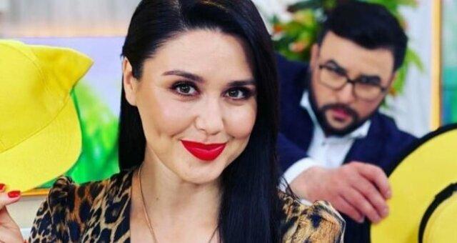 Людмила Барбир, ведущая, без макияжа