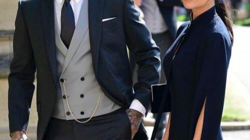 Бекхэмы продают свои наряды со свадьбы принца Гарри