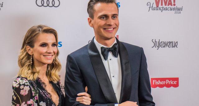 Александр Скичко с женой