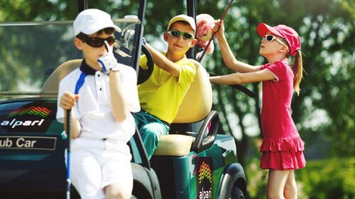 5 причин, почему детям стоит заниматься гольфом