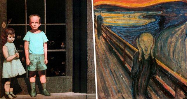 Проклятые картины известных художников
