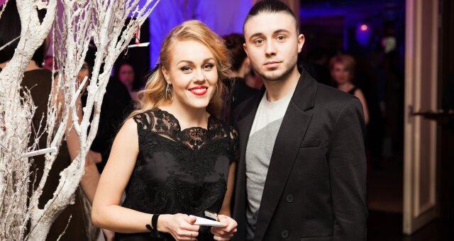 Тарас Тополя с супругой Еленой
