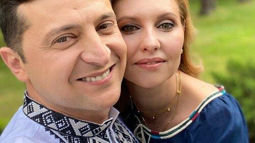 Олена і Володимир Зеленские відзначають День вишиванки: яку модель обрала перша леді і в чому з'явився президент (фото)