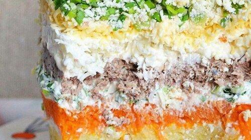 """Любимая """"Мимоза» - такая вкусная и красивая, что невозможно оторваться"""