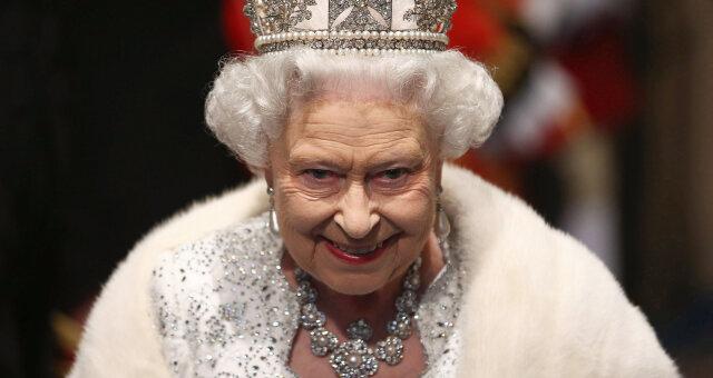 Елизавета II, королевский престол, 95-летие