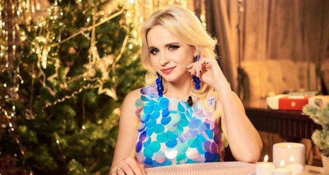 телеведущая, Лилия Ребрик, Новый год, праздничный стол