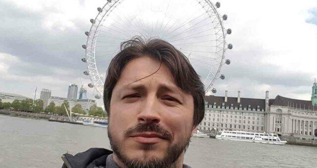 Сергей Притула в Лондоне
