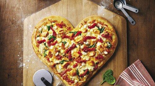 Просте блюдо на День Святого Валентина: порадуй коханого особливою піцою