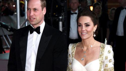 В шикарній сукні В східному стилі: Кейт Міддлтон приголомшила нарядом на червоній доріжці в Лондоні