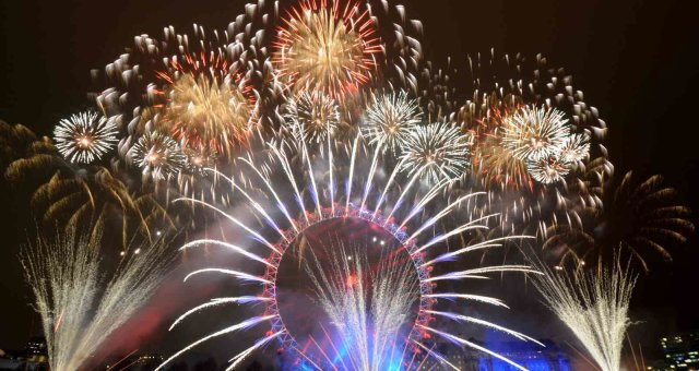 новый год, празднование нового года, новый год в разных странах