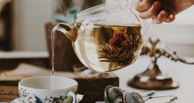 Чай снимает стресс и укрепляет нервы