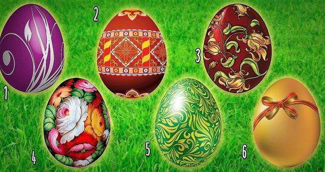 Пасхальный тест: выбери яйцо и узнай, что тебя ждет в ближайшем будущем