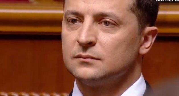 Владимир Зеленский, инаугурация 2019 украина