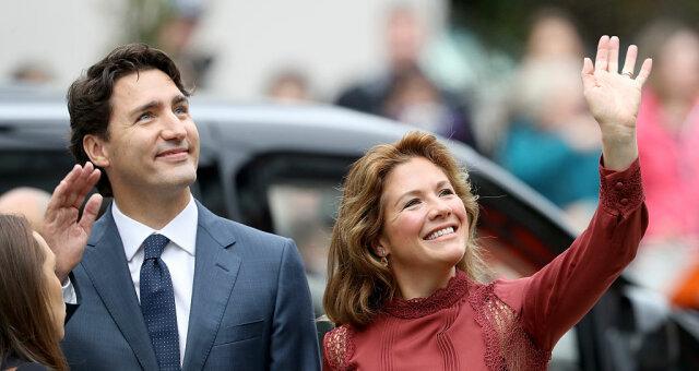 джастин трюдо, фото, жена, коронавирус, премьер-министр канады