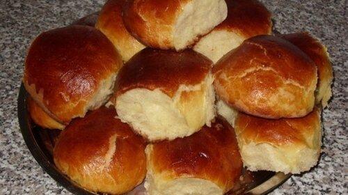 Вкусные ванильные булочки как в детстве
