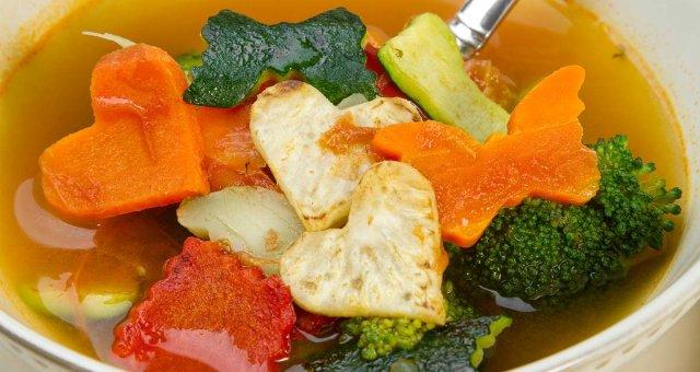 Вегетарианский суп для детей 2-111