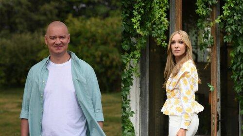 Евгений Кошевой и Катя Осадчая мило поздравили Украину с Днем Рождения