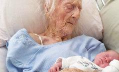 Очень поздние роды: женщина родила ребенка в 101 год