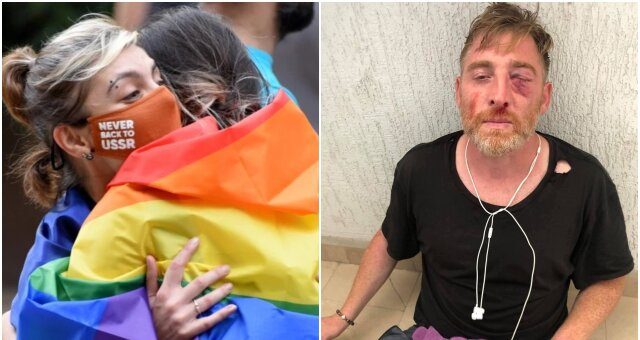 ЛГБТ, марш, умер телеоператор