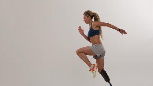 Українка з протезом ноги пробігла марафон (ФОТО)