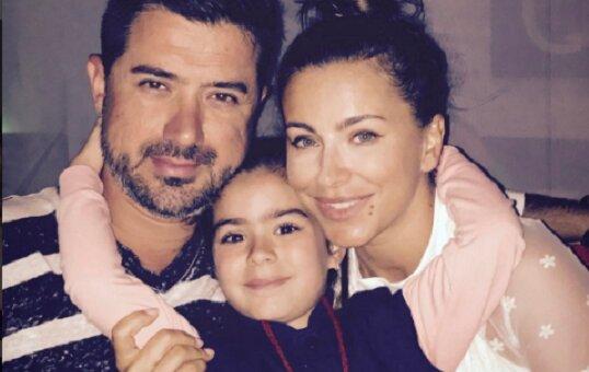 Ани Лорак с мужем Муратом и дочкой Соней