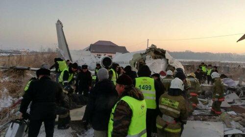 В Казахстане разбился самолет: Информация об украинцах на борту