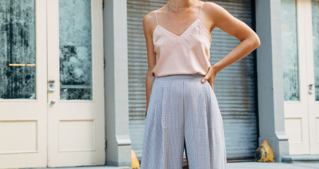 PADEGAO-Striped-Broad-Leg-Pants-Empire-Waist-Loose-Long-Trousers-2017-Spring-Autumn-Elegant-Slim-Wom
