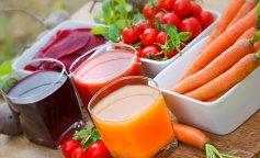 Диетическое питание на овощных соках: