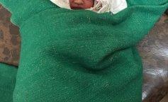 Найденный новорожденный ребенок