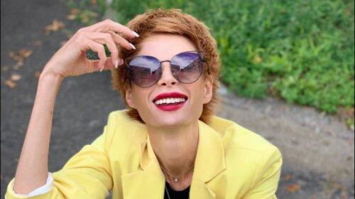 Яскравий макіяж і стильна стрижка Піксі: телеведуча Олена-Христина Лебідь показала наймоднішу стрижку 2020 року (фото)