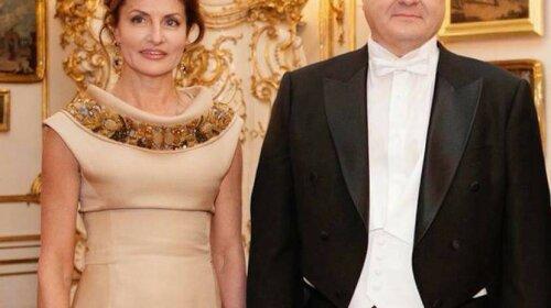 Образ дня: Марина Порошенко на балу в Вене