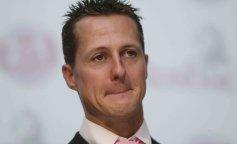 Michael Schumacher Visits Mineral Water Plant