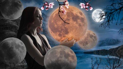 Прості і потужні заговори на зростаючий місяць