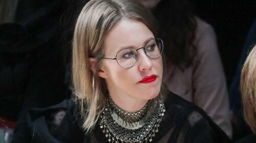 """Беременная Ксения Собчак показала """"похмельные очки"""": а как же ребенок"""