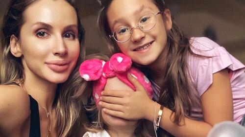 Лобода показала своих дочерей: 10-летнюю Еву от украинского танцора и 2-летнюю Тильду, отца которого скрывает до сих пор (фото)