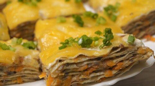 Оболденная закуска из лаваша: бюджетно и очень вкусно