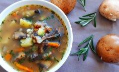 Наваристый суп из белых грибов: меню идеального обеда