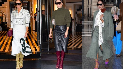 Самі модні спідниці осінь, які обожнює носити Вікторія Бекхем: інструкція до застосування