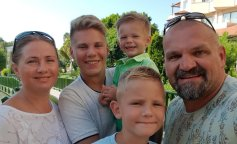 Семья Вирастюков в полном составе