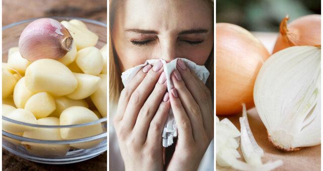Лук и чеснок от гриппа
