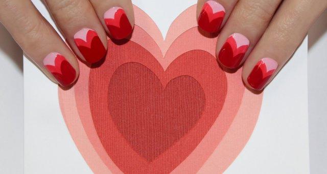 2014 Valentine's Day Nail Art