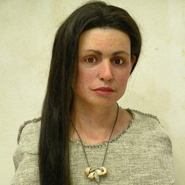 Ученые по черепу реконструировали внешность женщины времен неолита