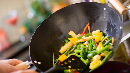 Cooking Chef wok