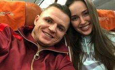 """""""Мои близкие знают, что я и терпила - несовместимые противоположности"""" - прокоментировала статью о своем муже жена Дмитрия Тарасова"""