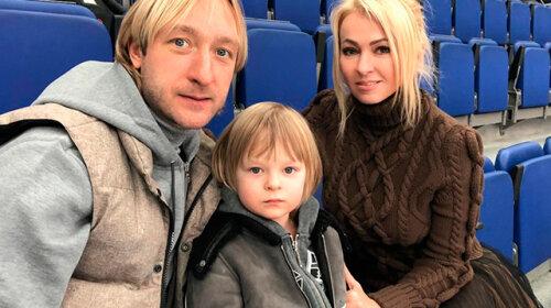 7-летний сын Евгения Плющенко и Яны Рудковской учится боксу