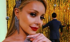 """Як сонечко: Тіна Кароль в яскравому жовтому платті запалила за лаштунками шоу """"Танці з зірками"""""""