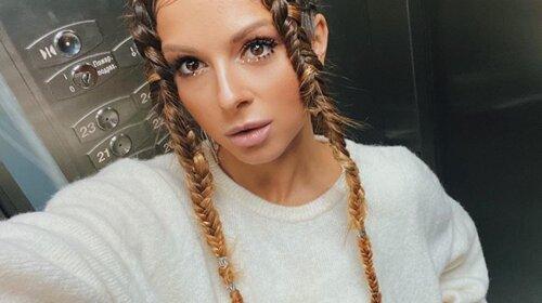 Певица Нюша намекнула поклонникам, что беременна вторым ребенком