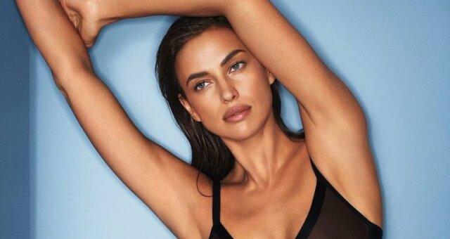 Ирина Шейк, модель, засветила прелести
