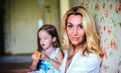 Снежана Егорова, антин мухарский, дети, развод, фото